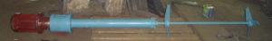 пропеллерная мешалка с выносным