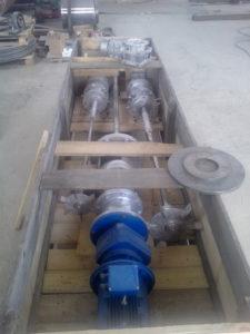 турбинные открытые мешалки